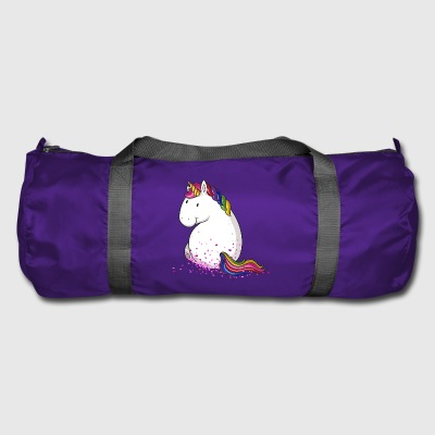 Confetti unicorn comic - Duffel Bag