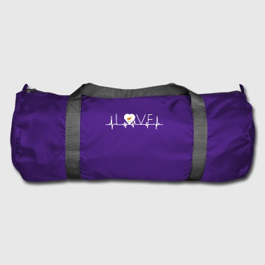 home roots queen love from heart Cyprus png - Duffel Bag