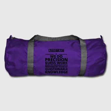 poison problem precision job ASSISTANT - Duffel Bag
