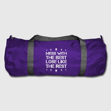 Mess with best loose king queen beard hair beard ho - Duffel Bag