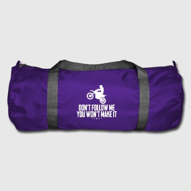 Motorcyclist with spell - Duffel Bag