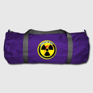 Careful, a radioactive design - Duffel Bag