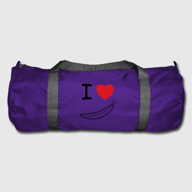 I love banana fruit gift idea - Duffel Bag