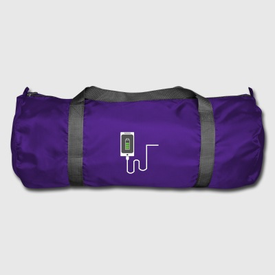 Partnerlook Mobile phone partner BFF Battery Love Teil1 - Duffel Bag