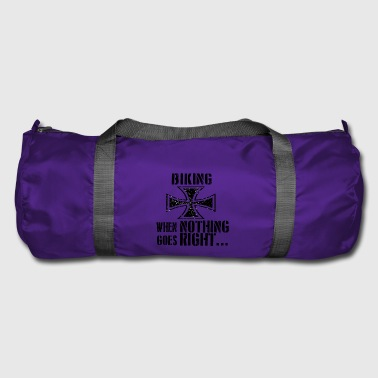 If everything goes wrong iron cross iron cross - Duffel Bag