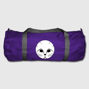 kitten cat cat hangover animal animals - Duffel Bag