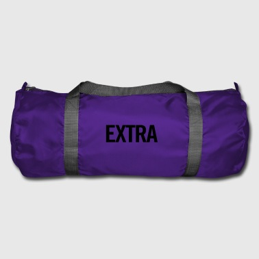 Extra Black - Duffel Bag