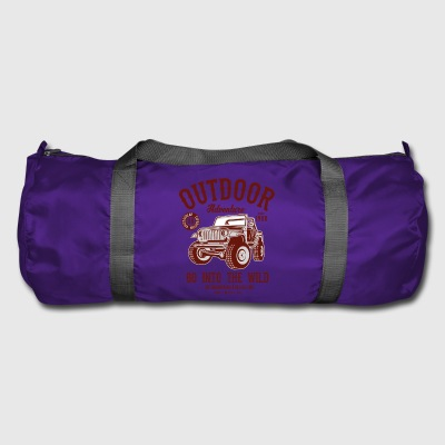 OUTDOOR ADVENTURE JEEP - Camping & Outdoor Shirt - Duffel Bag