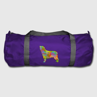 Spanish Water Dog Multicolored - Duffel Bag