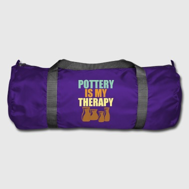 Pottery is Therapy - Duffel Bag