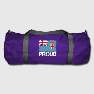 Pride flag flag home origin Fiji png - Duffel Bag
