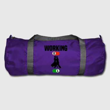 Working Job OFF dancing dancing sport ON gift - Duffel Bag