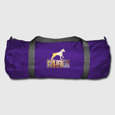 dog shirt mans best friend - Duffel Bag