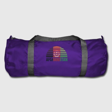 Sunset Sunburst home home roots AFGHANISTAN home - Duffel Bag
