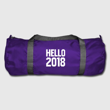 hello 2018 new year's eve happy new year sport shirt - Duffel Bag