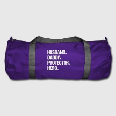 Mens Cute Funny Fathers Day - Duffel Bag