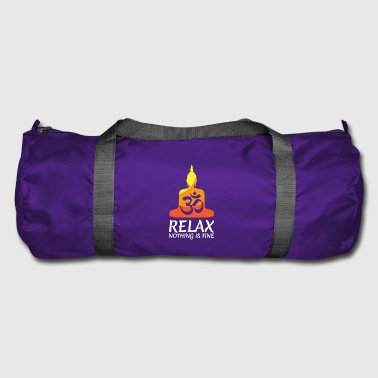 You Can't Control It gift for Yoga Lovers - Duffel Bag