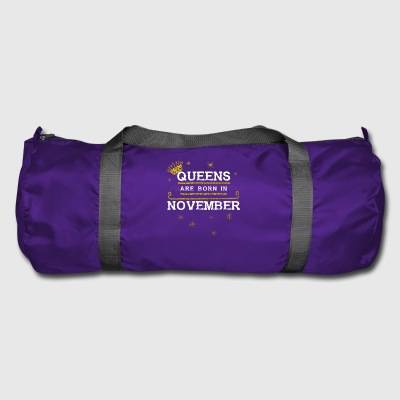 Queensborn NOVEMBER - Duffel Bag