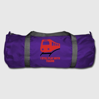Train driver, train conductor, railway, subway, ICE, train - Duffel Bag