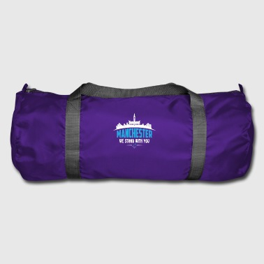 MANCHESTER WE STAND WITH YOU - Duffel Bag