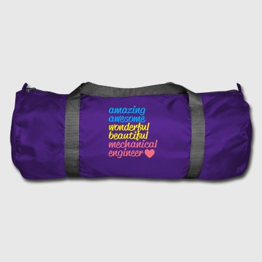 AMAZING AWESOME mechanical engineer - Duffel Bag