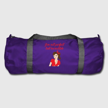 Pin-Up Girl / Rockabilly / 50: No soy perfecto - Bolsa de deporte