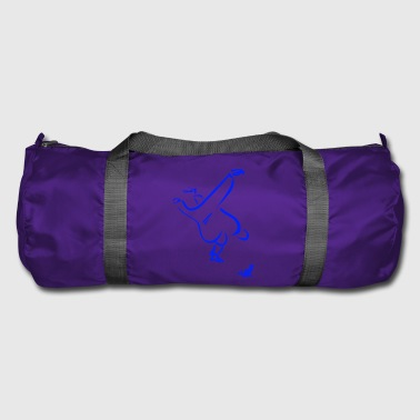 UCHI MATA BLUE - Duffel Bag