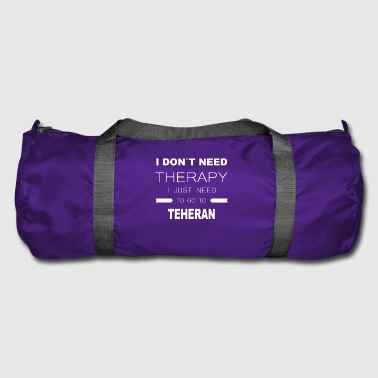 i dont need therapy i just need to go to - Duffel Bag