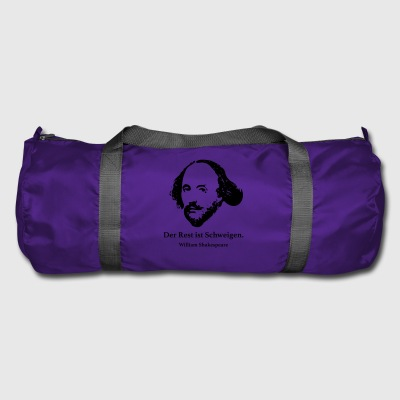Shakespeare: The rest is silence. - Duffel Bag