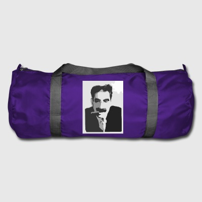 Groucho Marx black and white - Duffel Bag