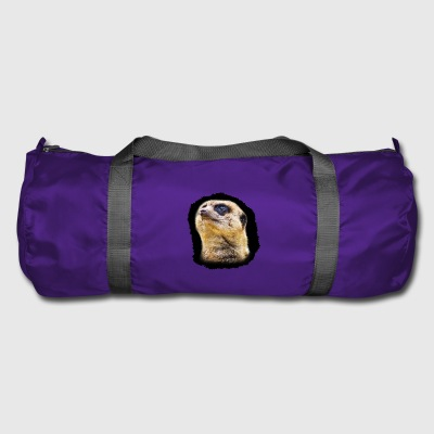 Meerkat Portrait - Duffel Bag
