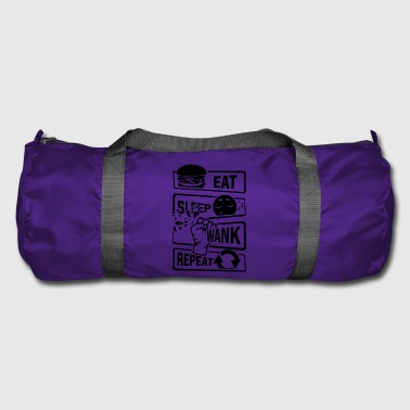 Eat Sleep Wank Repeat - Masturbate masturbation - Duffel Bag