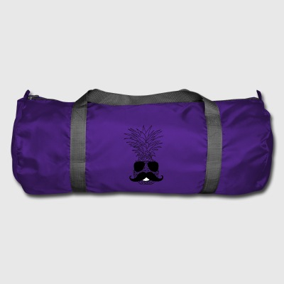 TRENDY PINEAPPLE STYLE PINEAPPLE WITH BEARD VEGAN - Duffel Bag