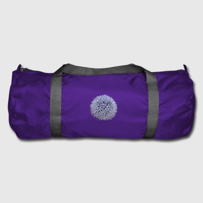 Large lilac flower - Duffel Bag