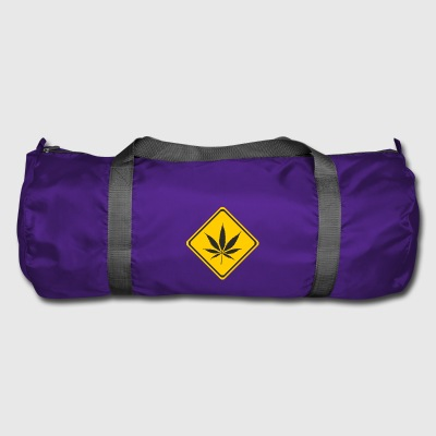 cannabis Attention - Sac de sport