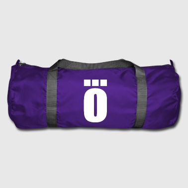 O - Ö with 3 points | Letter - Duffel Bag