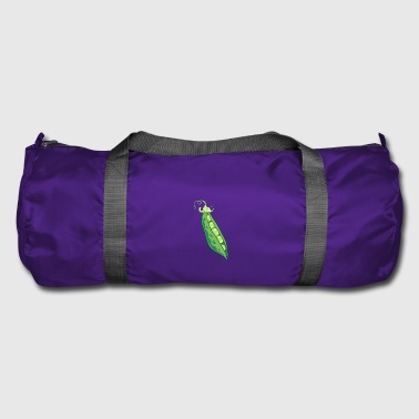 Pea peas pea pod vegetable gift - Duffel Bag