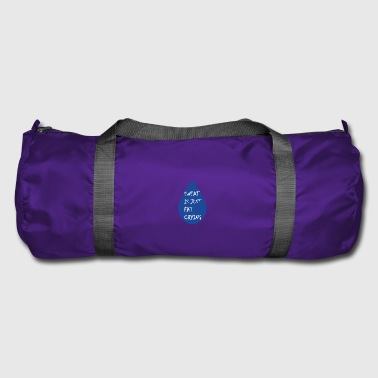 Funny fitness quote - Duffel Bag