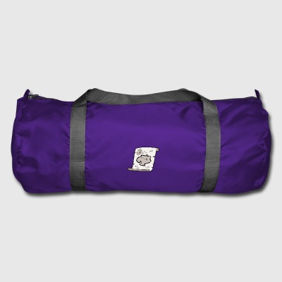 treasure map - Duffel Bag