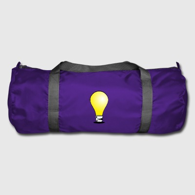 lightbulb light bulb gluehbne lamp bulb31 - Duffel Bag