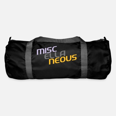 Miscellaneous miscellaneous english gift slogan colored motive - Duffle Bag