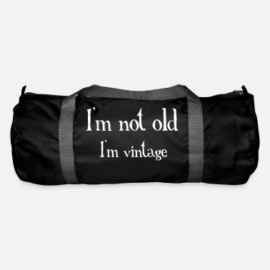 Old Not Old - Duffle Bag