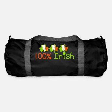 Keep Calm Underwear ♥ټ☘Kiss Me I'm 100% Irish-Irish Rule☘ټ♥ - Duffle Bag