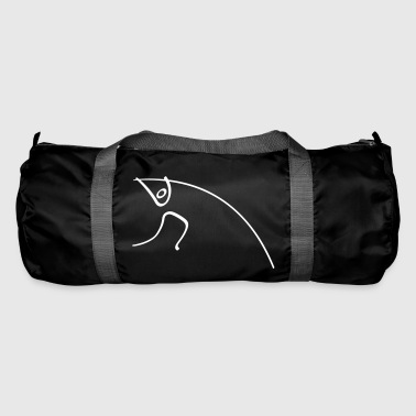 Athletics Pole Vault Pictogram - Duffel Bag