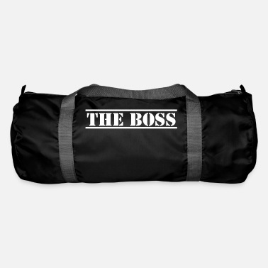 Stencil THE BOSS in stencil - Duffle Bag