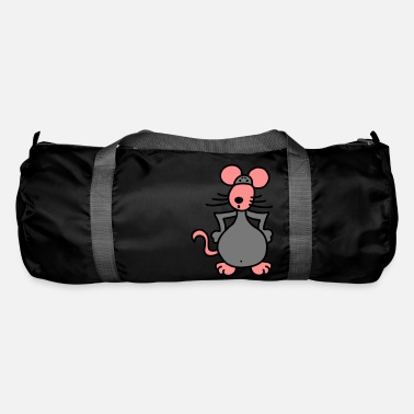 Outrageous Mouse outraged - V3 - Duffle Bag