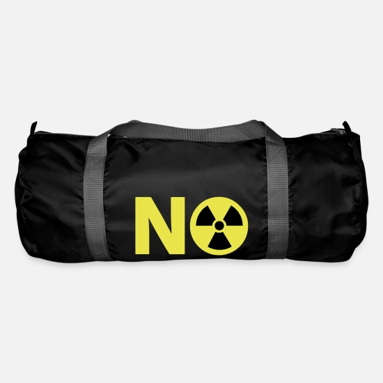 Power Bags & Backpacks - Nuclear Power No Thanks - Duffle Bag black