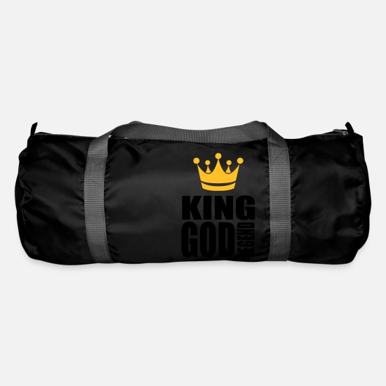 Legend Bags & Backpacks - king god legend - Duffle Bag black