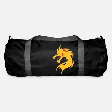 Vector ❤️Dragon in Chinese Character-Love Dragon-龍 - Duffle Bag
