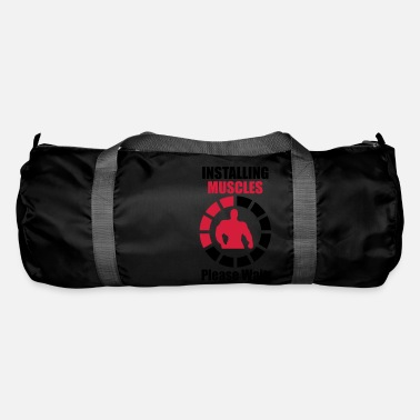 Funny Installing Muscles (Loading) Funny Gym - Duffle Bag